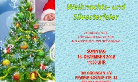 Weihnachts- und Silvesterfeier